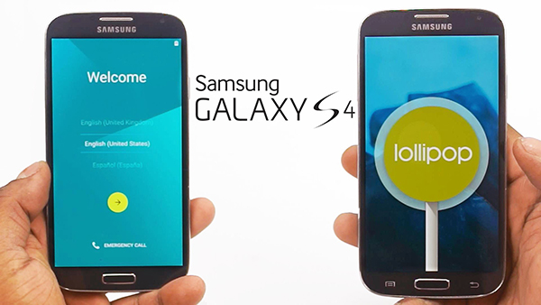 Samsung Galaxy S4 Android 5.0.1 Lollipop