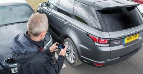 Range Rover Sport app