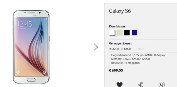Samsung Galaxy s6-128gb