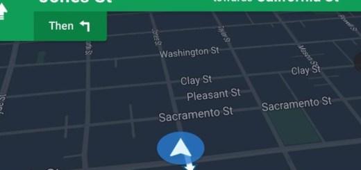Google Maps nachtmodus