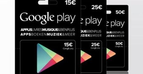 Google Play Cadeaukaarten