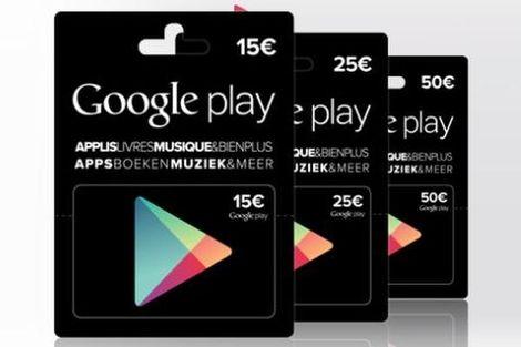 Google Play Cadeaukaarten
