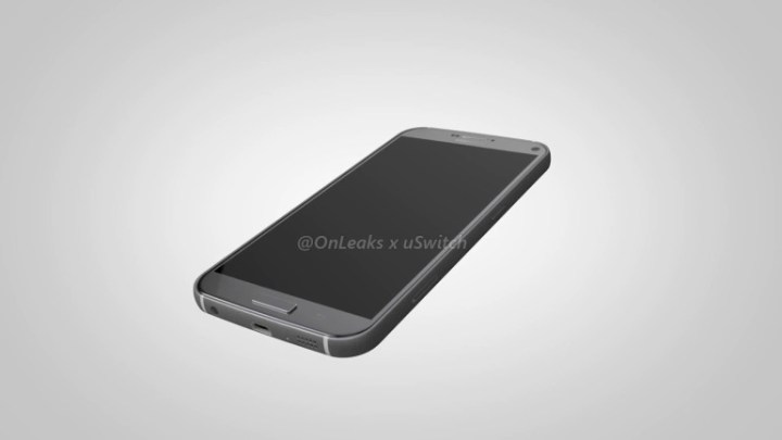Galaxy S7 Plus render