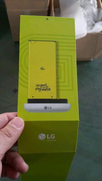 LG G5 verwisselbare accu