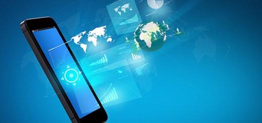 Modern communication technology mobile phone