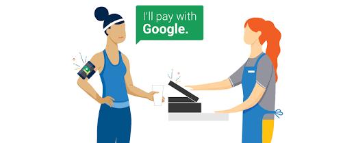 Google HandsFree betalen