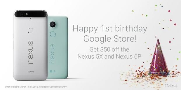 Google Store Nexus korting