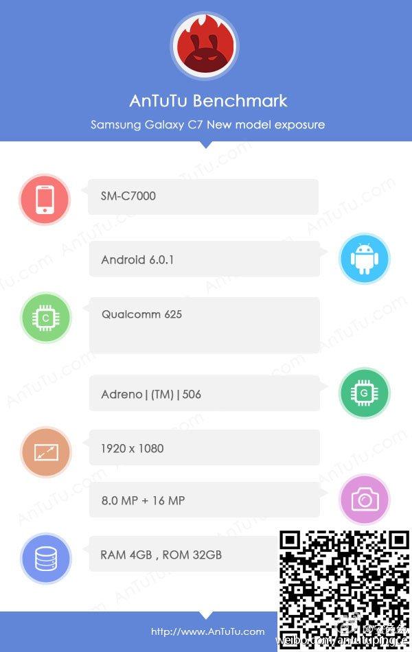 Samsung SM-C7000 AnTuTu Benchmark