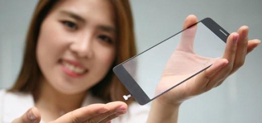 LG vingerafdrukscanner onder scherm