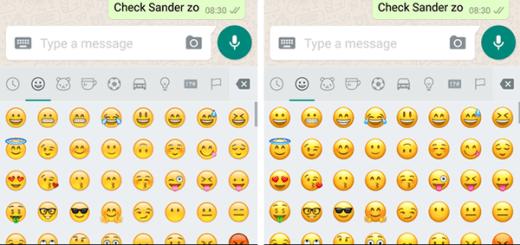 WhatsApp nieuwe emoji