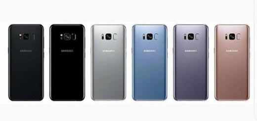 Samsung Galaxy S8 kleurencombinaties