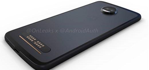 Motorola Moto Z2 render