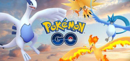 Lugia en Articuno Pokemon Go