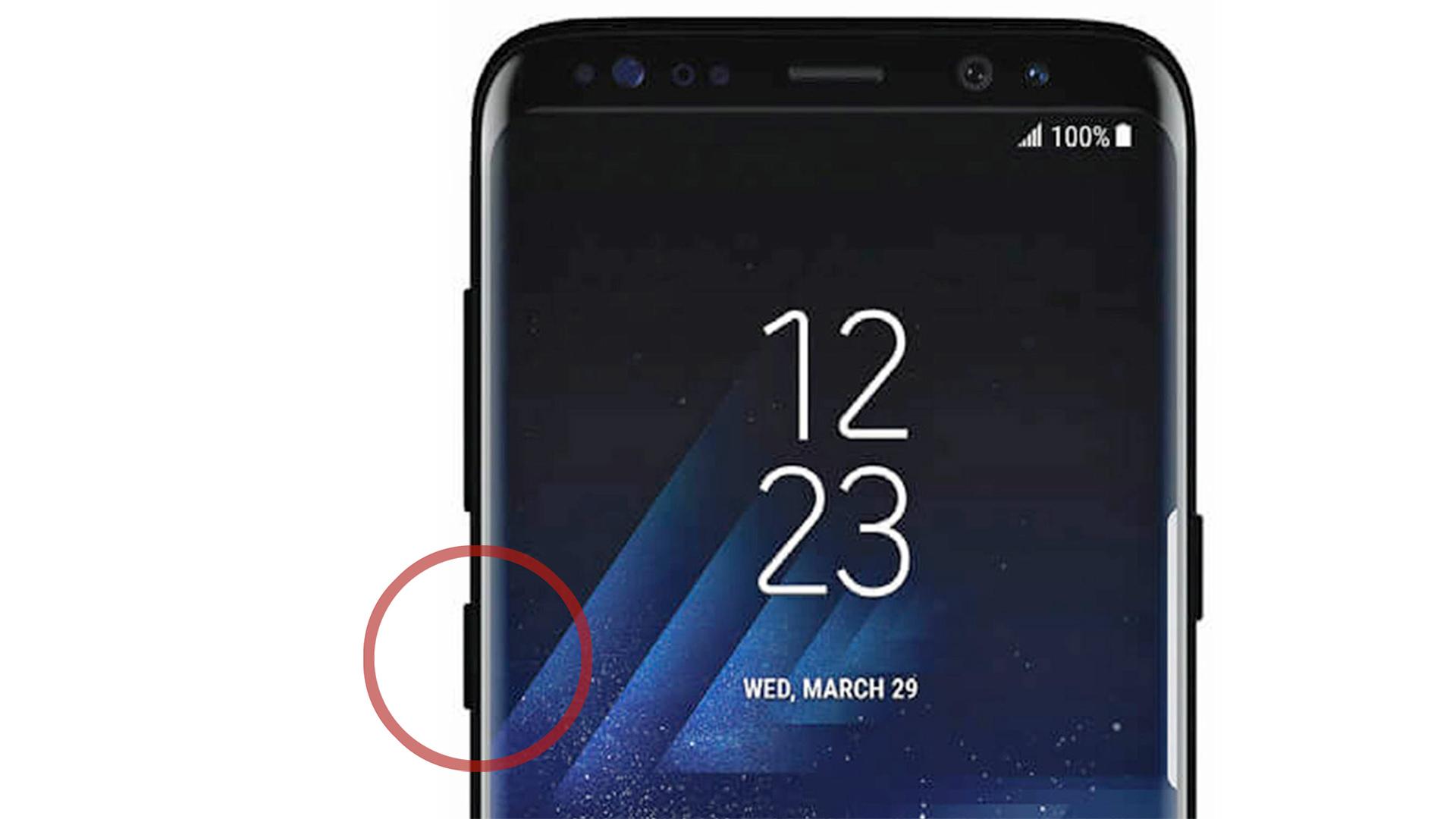 Samsung Galaxy Note 8 getoond