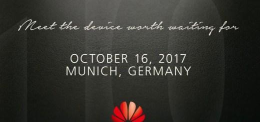 Huawei Mate 10 uitnodiging