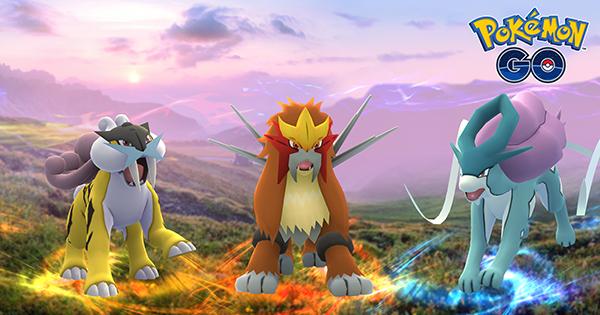 johto legendary Pokemon