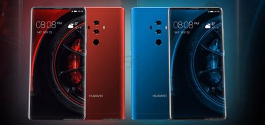 Huawei Mate 10 Porsche Design render