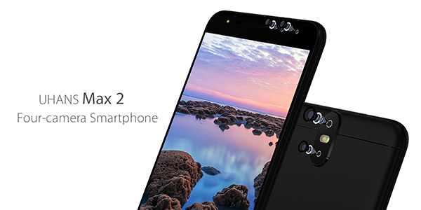 UHANS Max 2 dual-camera