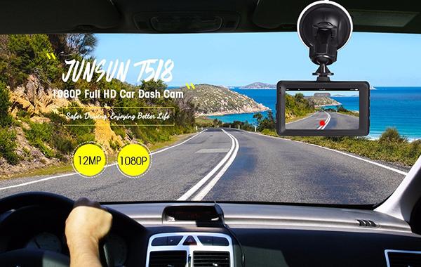 JUNSUN T518 Car Dash Cam