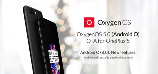 OnePlus OxygenOS 5.0 Oreo