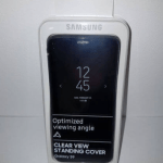 Clear View Standing Cover Galaxy S9 4