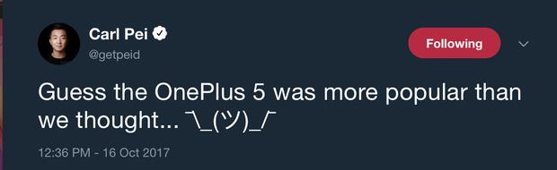 Carl-Pei-tweet-OnePlus-5T