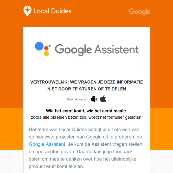 Local-Guides-Google-Assistant-Nederland