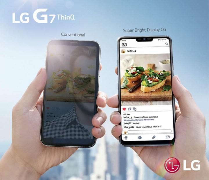 lgG7ThinQ-scherm