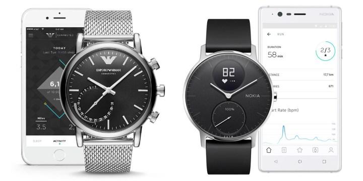 Hybride-Horloges