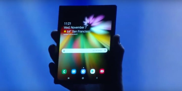 Samsung-vouwbare-smartphone