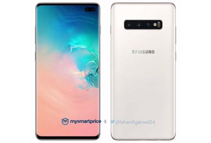 Samsung-Galaxy-S10+Ceramic-White-Edition