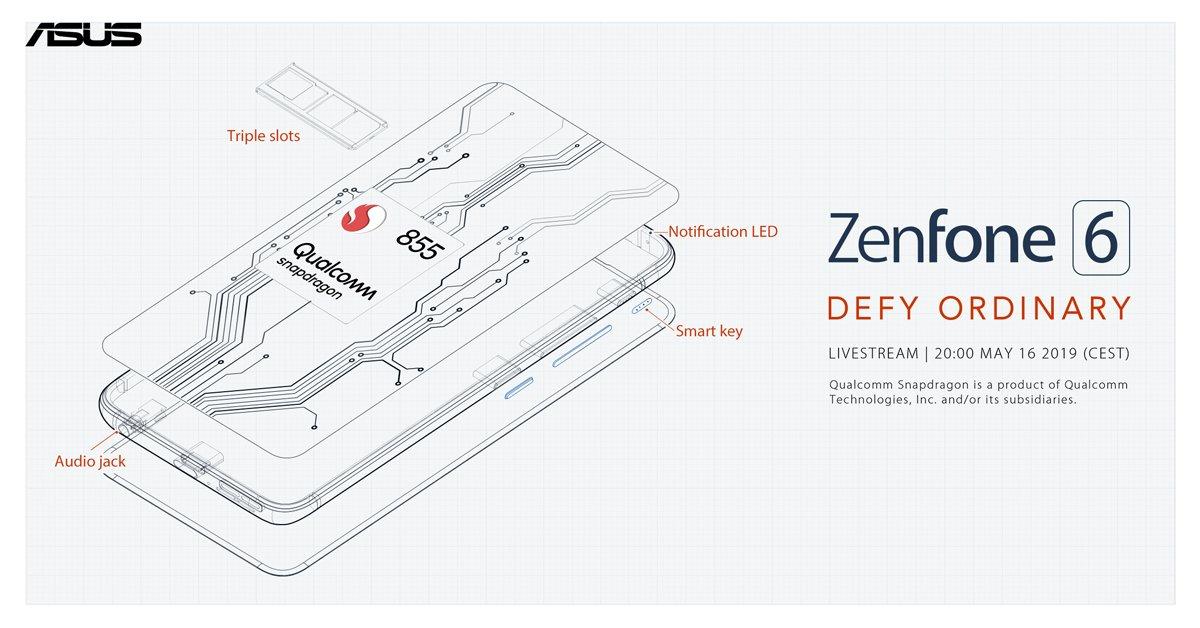 Asus Zenfone 6 Beschikt Over Snapdragon 855-processor en