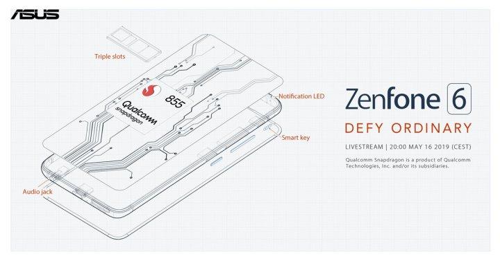Asus Zenfone 6 teaser Snapdragon 855