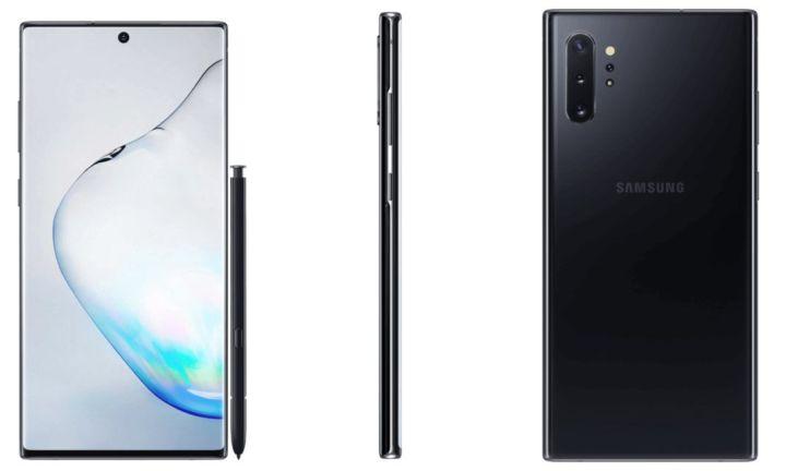 Samsung-Galaxy-Note-10-render-zwart