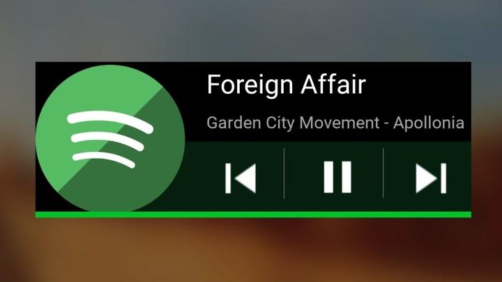 Spotify-Widget