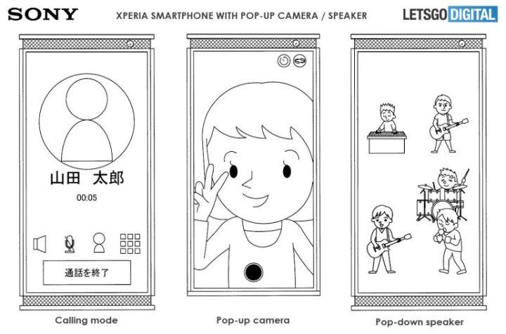Sony-smartphone-pop-up-speaker-camera