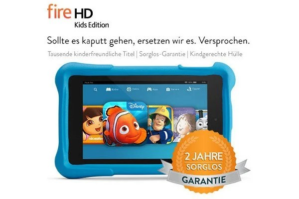 Amazon: Fire HD Kids Edition-Tablet -