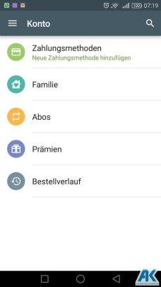 Play Store: Family Library und neue Kategorien 5