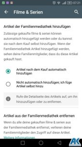 Play Store: Family Library und neue Kategorien 9