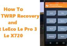 Anleitung/HowTo: LeEco Le Pro 3 - TWRP Recovery und Flash Root 1