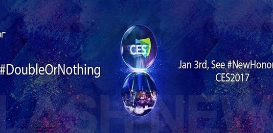"""Honor kündigt neues Smartphone """"Double Or Nothing"""" für die CES 2017 an"""