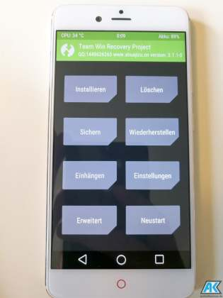 Anleitung/HowTo: Nubia Z17 Mini (NX569J) – TWRP Recovery, Global Rom und Root flashen 6