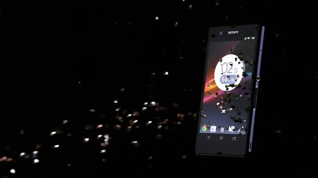 Alle drei Videos sollen die Robustheit des Sony Xperia Z demonstrieren.