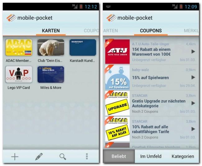 Du stehst an der Kasse, deine Kundenkarte und der aktuelle Gutschein aber liegen sinnlos zuhause herum? Das wird dir nie wieder passieren, wenn du die App mobile-pocket verwendest.