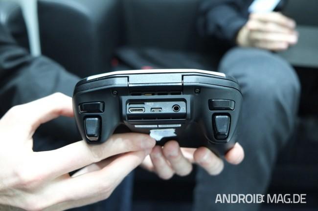 Mittels HDMI kann Project Shield auch mit TV-Geräten verbunden werden. Foto: androidmag.de