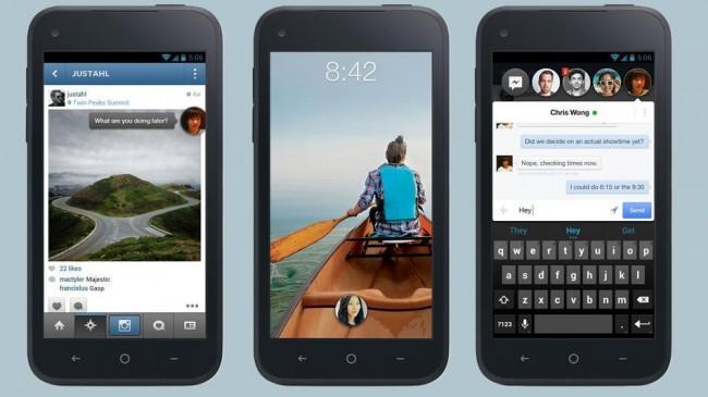 Der Launcher von Facebook wurde bereits 500.000 Mal aus dem Play Store heruntergeladen. Foto: Facebook.