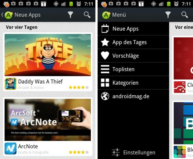 """Mit der App """"AppCheck - Die besten Apps"""" behältst du den Überblick über die besten App-Neuheiten."""