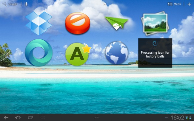 Mit dieser App lassen sich die Icons der einzelnen Apps kinderleicht vergrößern.