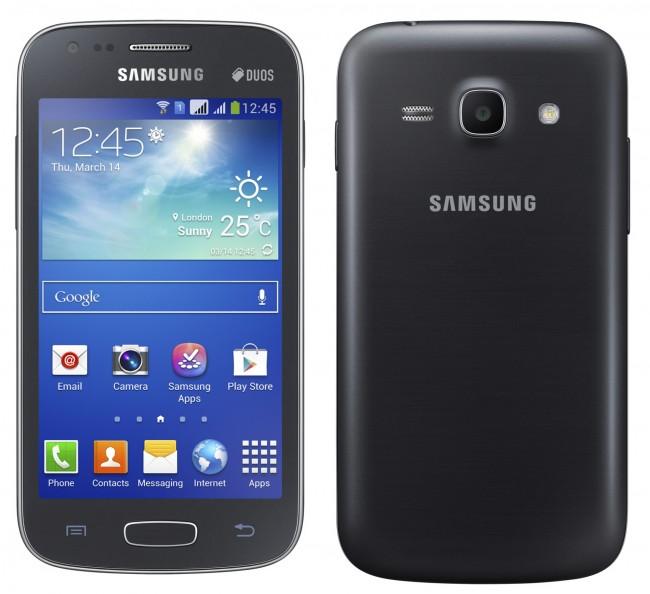 Samsung Galaxy Ace 3 Front- und Rückseite / Bildquelle: Samsung