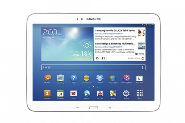 Das Galaxy Tab 3 10.1 bekommt vielleicht bald einen Nachfolger. (BQ: The Verge)